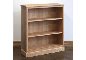 Shaker Bookcase displays a classic style living area furniture addition handmade by bespoke furniture maker Hardwood Artisans