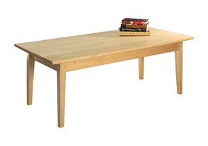 Shaker Coffee Table in Maple, Hardwood Artisans
