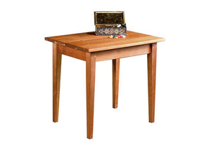 Shaker End Table in Natural Cherry, Hardwood Artisans