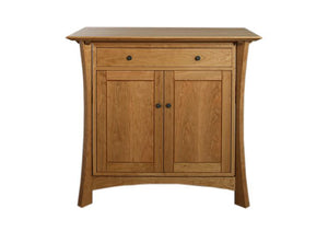 Waterfall Cabinet in Natural Cherry, Harwood Artisans