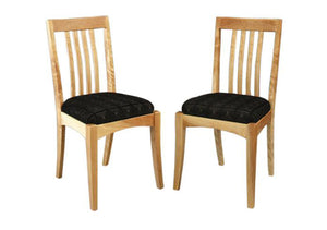 Middleburg Side Chairs in Birch, Hardwood Artisans