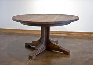 Miller Table and Kitchen/Dining Room Furniture Made in Virginia by Hardwood Artisans a bespoke furniture maker & craftsman