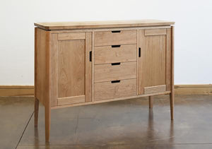 Susan Sideboard designed & handcrafted w/ Amish joinery techniques and hand-finished an American-Made furniture near Bethesda