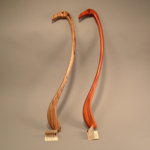 Flamingo Back Scratcher is a great exotic gift idea for yourself or anyone available at Hardwood Artisans or for order online