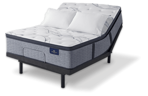 Serta Perfect Sleeper Trelleburg II Pillow Top Plush mattress compatible with Wall Beds and Serta Adjustable Foundations
