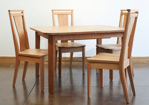 Susan Butterfly Dining Table is one of the Kitchen & Dining Room Furniture sets available at Hardwood Artisans near Vienna VA