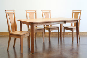 Susan Butterfly Dining Table is an heirloom quality Kitchen & Dining Room Furniture set at Hardwood Artisans near Ashburn VA