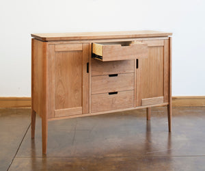 Susan Sideboard Made in Virginia by Hardwood Artisans a bespoke furniture maker & craftsman using Amish joinery techniques