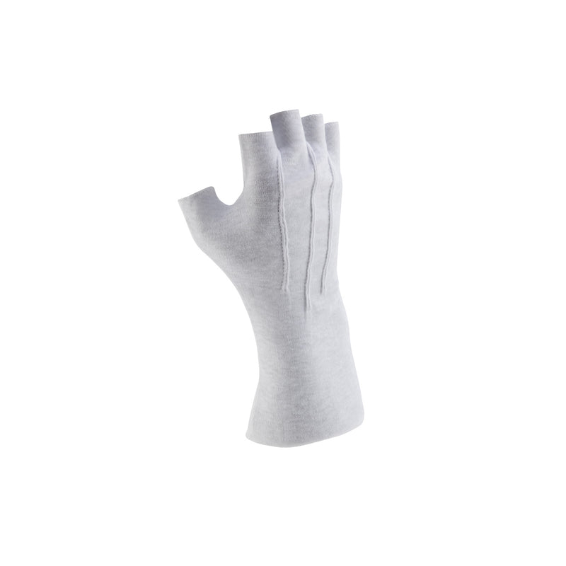 Fingerless Long Wrist Cotton Gloves