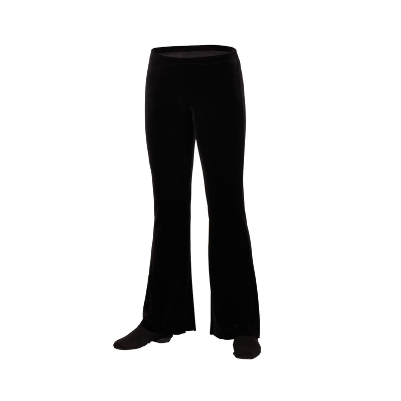 Color Flared Boot Leg Pants (Velvet)