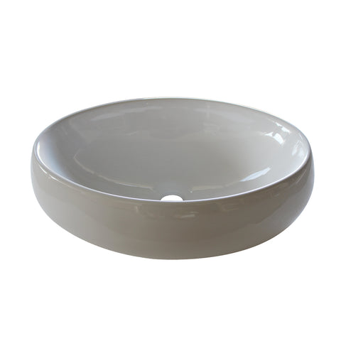 4004A Ceramic Oval Vessel Bathroom Sink