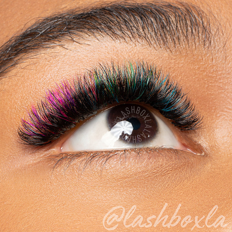 CILS DE COULEUR  'UNICORN LASH' - LashboxLA France