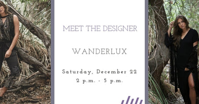 wanderlux: meet the designer