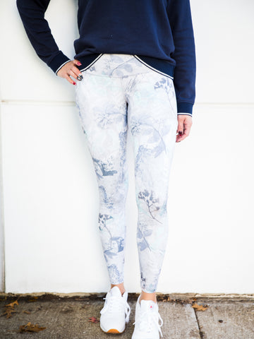 X-Ray Floral Signature Tight