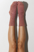 Marsala Cable Knit