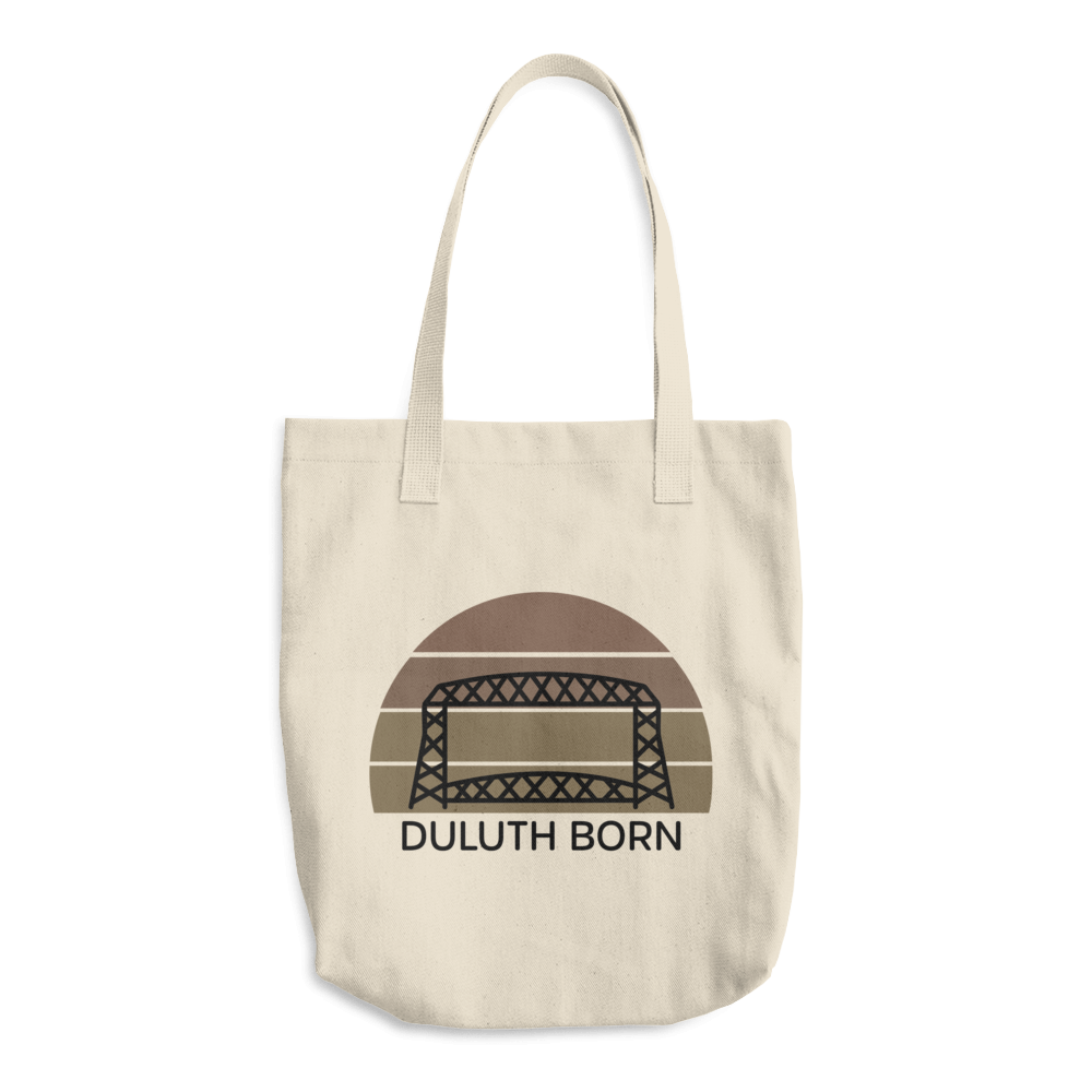 Tanned 'Duluth Born' Tote