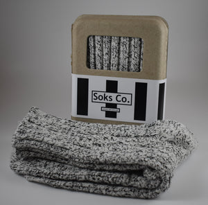Salt N' Pepper Cable Knit
