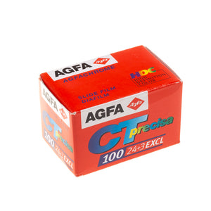 5 Pack Agfa CT Precisa 100 Speed 24+3 Exposures - Expired - Limited amount - Process C41