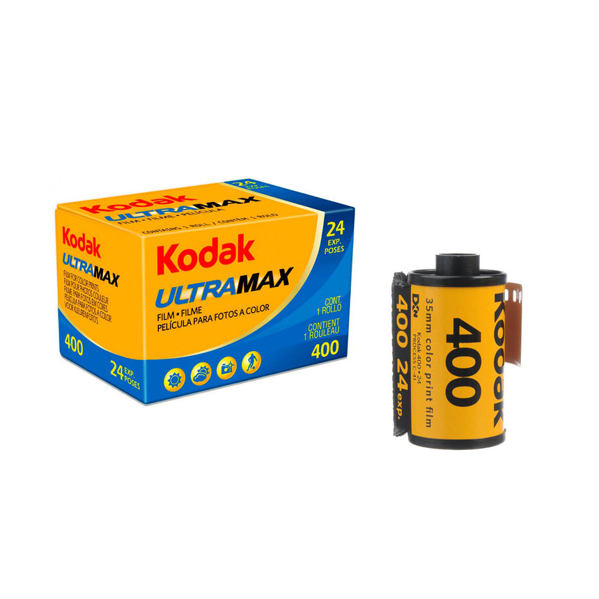 Kodak Ultramax 400 24 exposure colour film