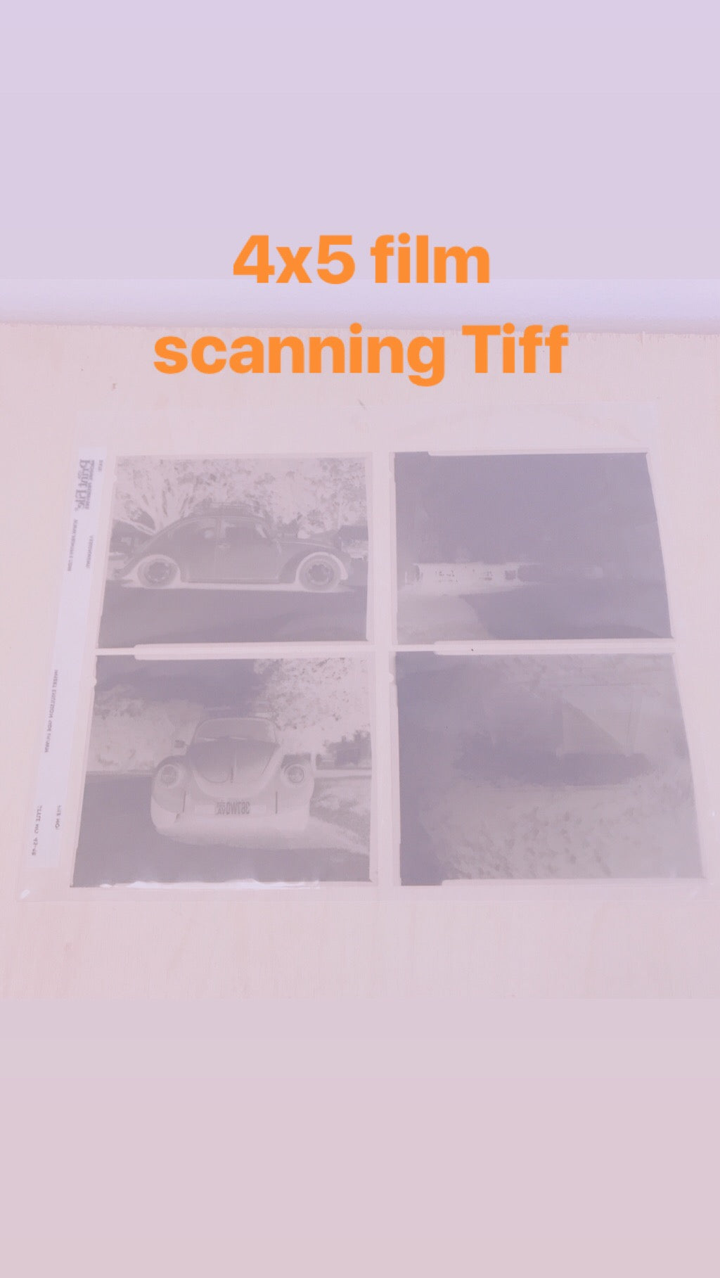 4x5 film Scanning per sheet Hi Res Tiff