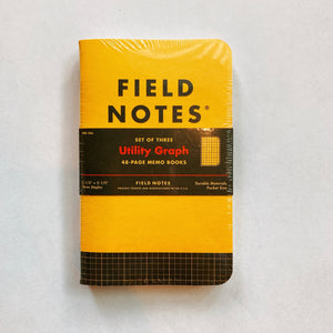 Fieldnote Utility Graph 3-Packs