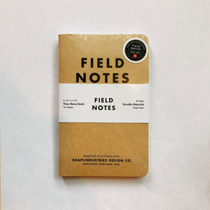 Fieldnote Tenth Anniversary 3-Pack