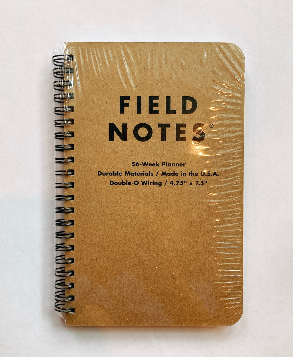 Field Note 56 week planner
