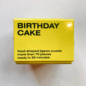 AREAWARE  Little Puzzle Thing Birthday Cake