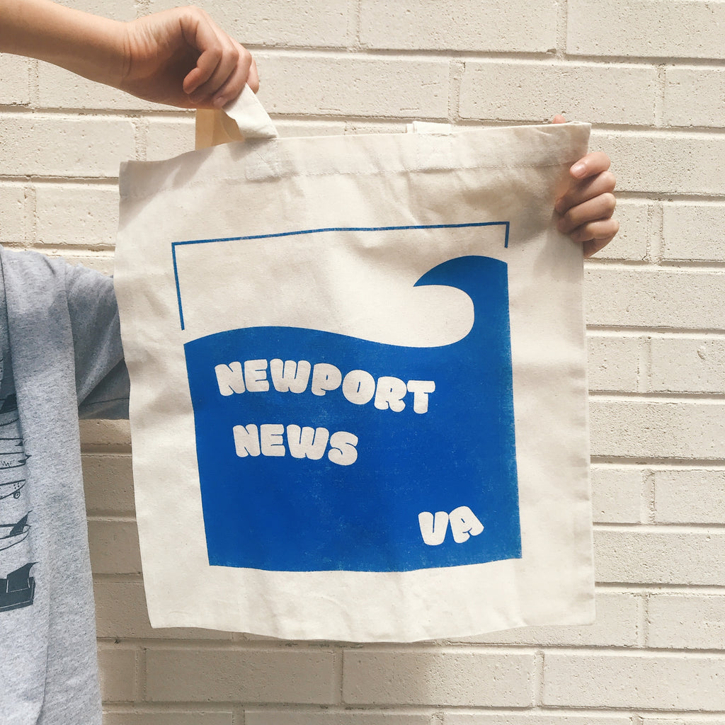 Newport News Totebag blue