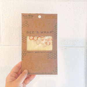 Bees Wrap set of 3 Assorted (S,M,L)