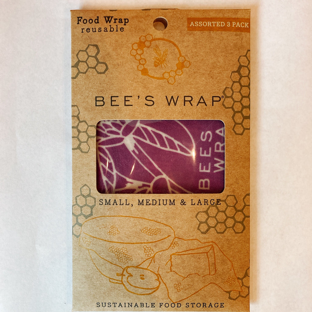 Bees Wrap set of 3 Clover (S,M,L)