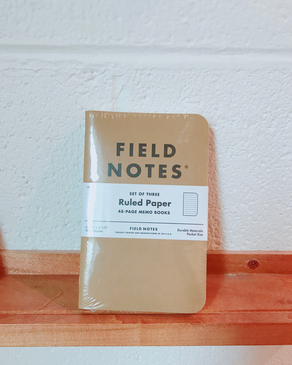 Fieldnote Ruled 3-Packs