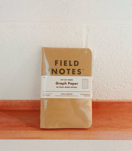 Fieldnote Graph 3-Packs