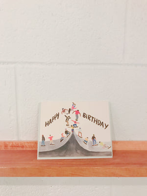 Small Adventure Skater Birthday