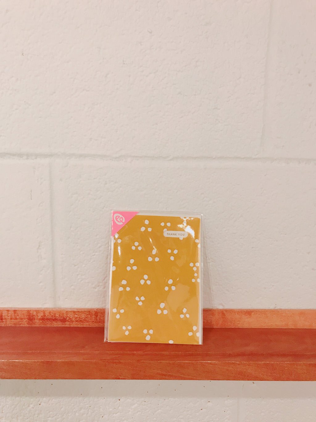 EGG Press dots triangle single card