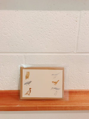 SD-13 Seven Days Card Bird