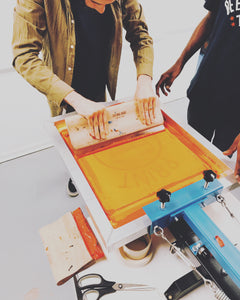 Intro Screen Printing Workshop 11/23/19