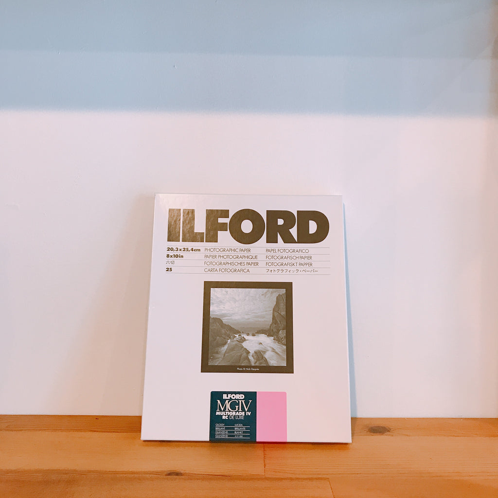 ILFORD MG4RC1M, 8x10, 25 SHEETS