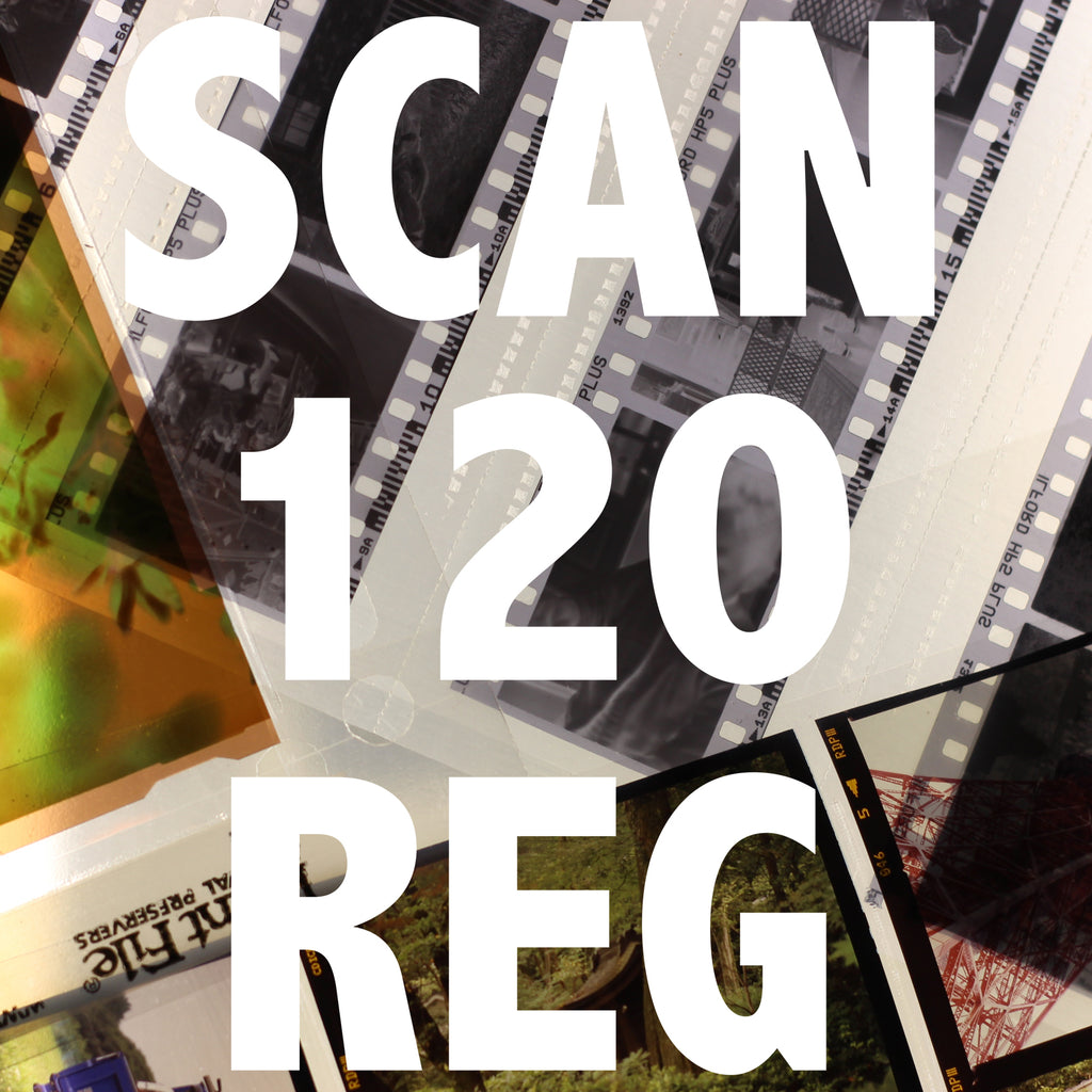 120 film Scanning Full Roll REG