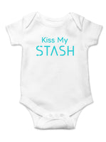 """Kiss My Stash"" Baby Onesie"