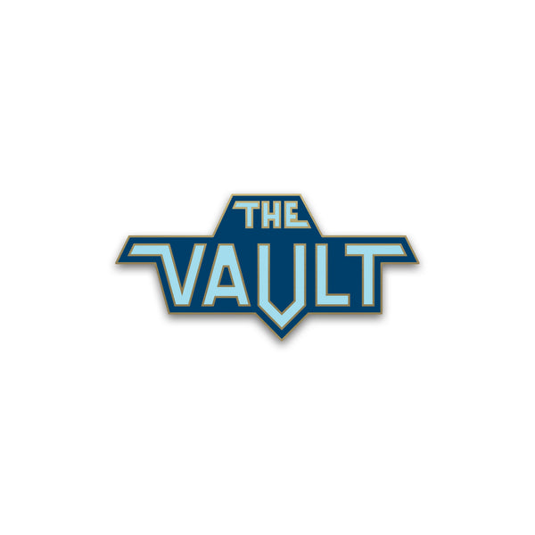 """The Vault"" Enamel Pin"