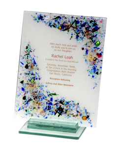 Custom Wedding Invitation Plaque - Celestial