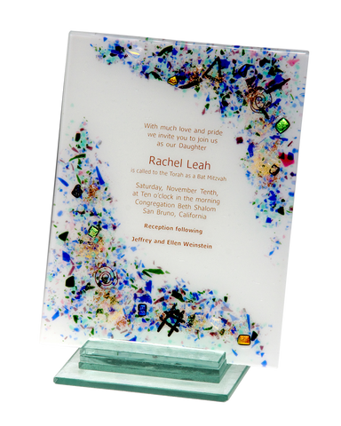 Custom Wedding, Bar Mitzvah & Bat Mitzvah Invitation Pieces