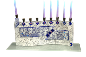 Menorah Vortex Blue