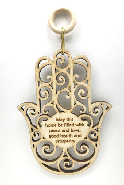 Hamsa Home Blessing Wall & Window Hanging