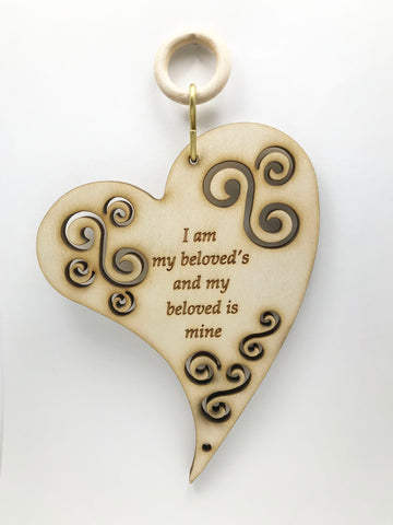 I am my Beloved's Wall & Window Hanging