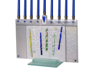 Hanukkah Menorah Lattice