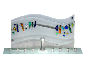 Menorah Quasar White