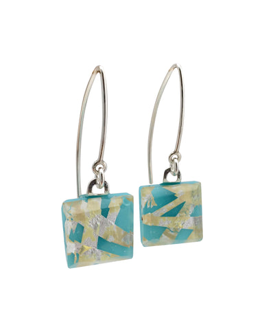 Turquoise Small Angle Earrings