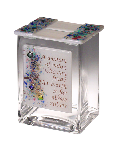 Tzedakah Box Woman of Valor